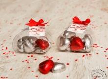 מזוודה, שוקולד לב,