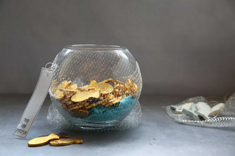 אקווריום דגים לשפע לשנה החדשה